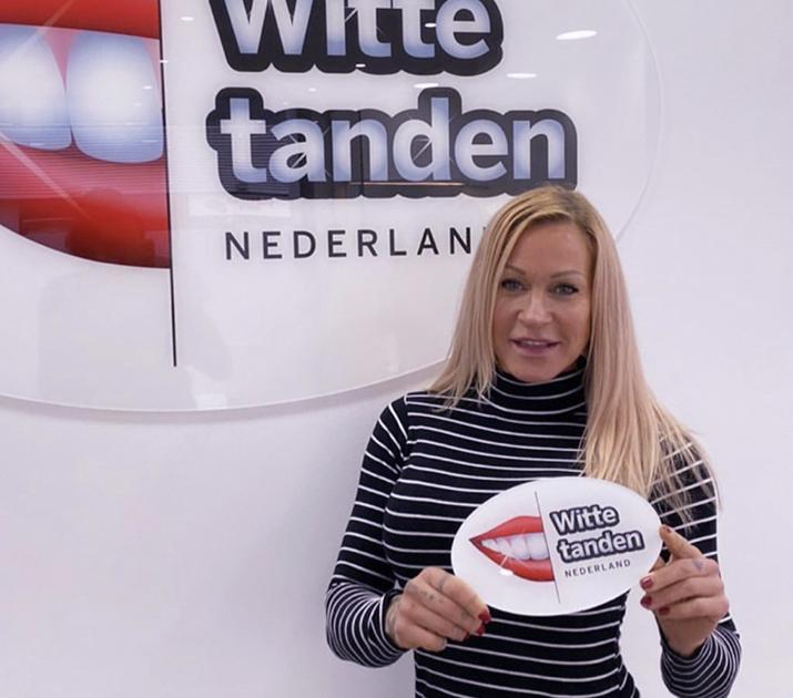 Alexandra van Utopia 2 bij Witte tanden bleken Spijkenisse